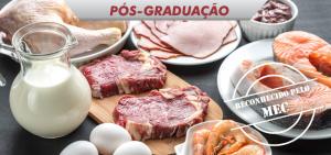 pós-graduação gestão da qualidade, higiene e tecnologia de produtos de origem animal