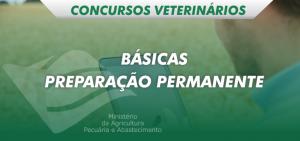 disciplinas básicas preparatório veterinário