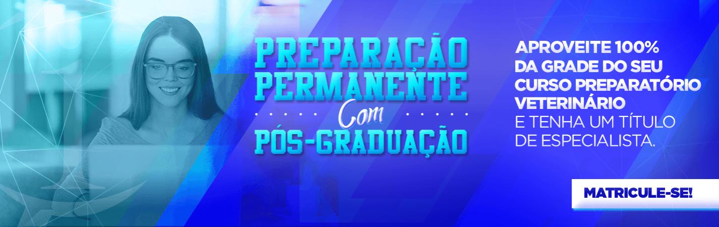 preparação permanente para concursos veterinários com pós-graduação